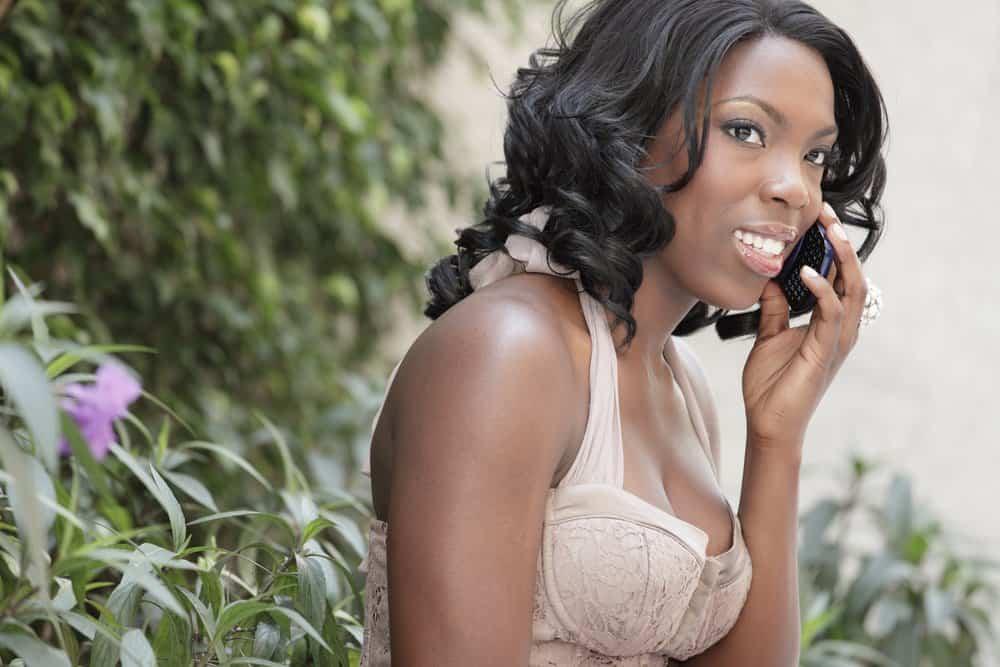 black singles chat line number